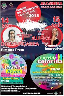 Programa Festa da Juventude de Alcanena
