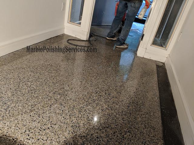 Terrazzo Floor Polishing NYC