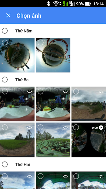Đăng ảnh 360 độ lên Google Plus