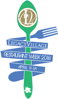 dining deal, restaurant week, Legacy Village