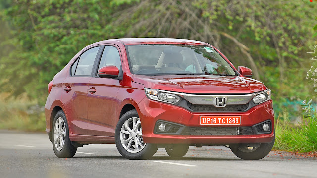 Honda amaze images front side