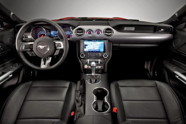 Interior view of 2018 Ford Mustang Ecoboost Coupe Premium