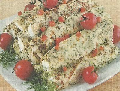 Состав продуктов и способ приготовления блинов с укропом и цветной капустой