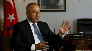 """وزير الخارجية التركي: الحل العسكري في سوريا """"سيؤدي إلى كارثة"""""""