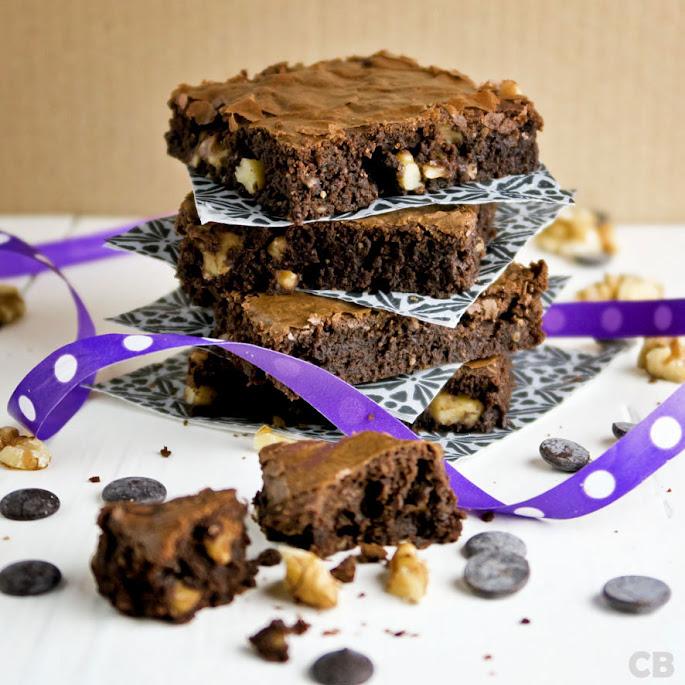 De lekkerste brownies met walnoten
