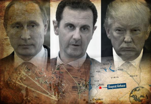 Resultado de imagen de Disuasivos ruso-sirios habrían abatido 36 misiles crucero Tomahawk