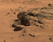 Obama's Head Found On Mars?