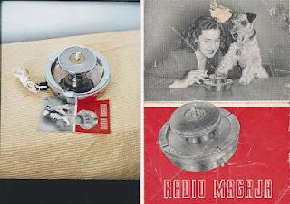 Microfono spia a forma di posacenere, anni '50