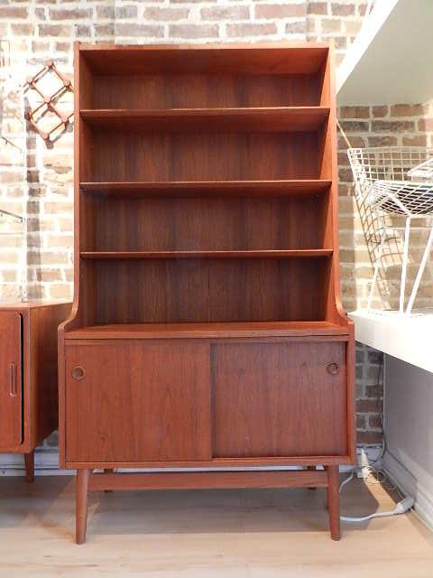 Zig Zag Kurt Ostervig Bookcase Sold