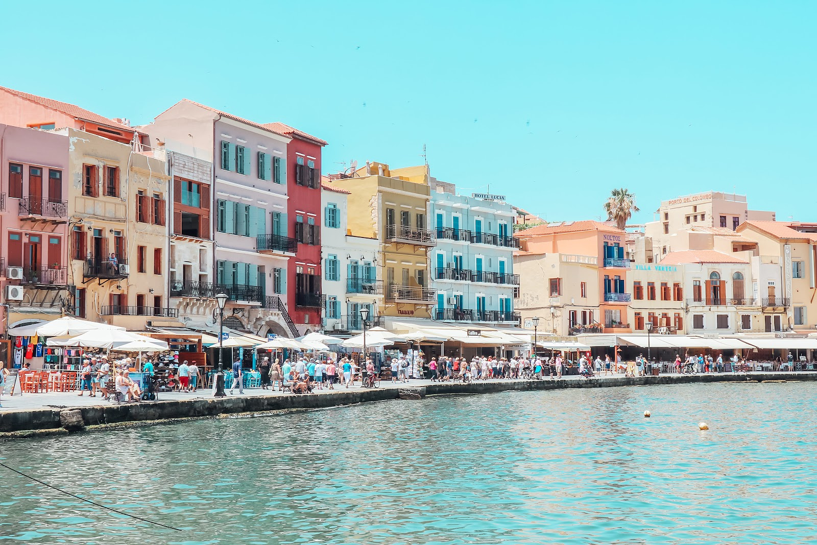 Chania Harbor Old Town