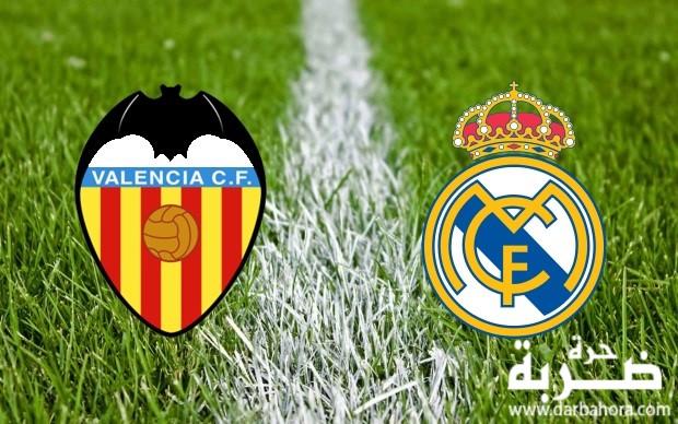 نتيجة مباراة ريال مدريد وفالنسيا يلا شوت 2-1 اليوم 19-4-2017 في الدوري الاسباني