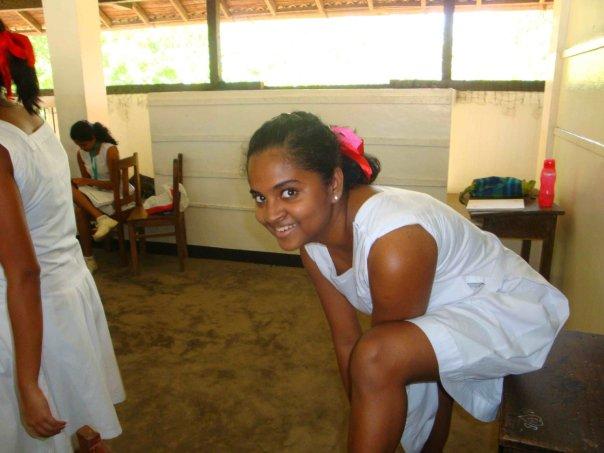 Skole Jente Sri Lanka Naken