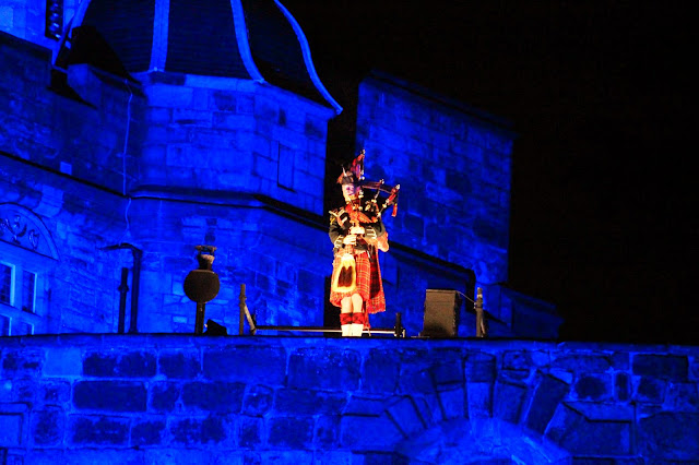 Edinburgh Tattoo Lone Soldier