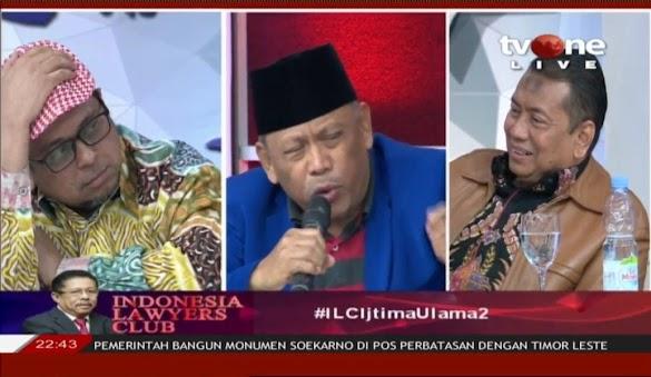 Soal Kepulangan HRS, Eggi Sudjana Semprot Kapitra Ampera di ILC
