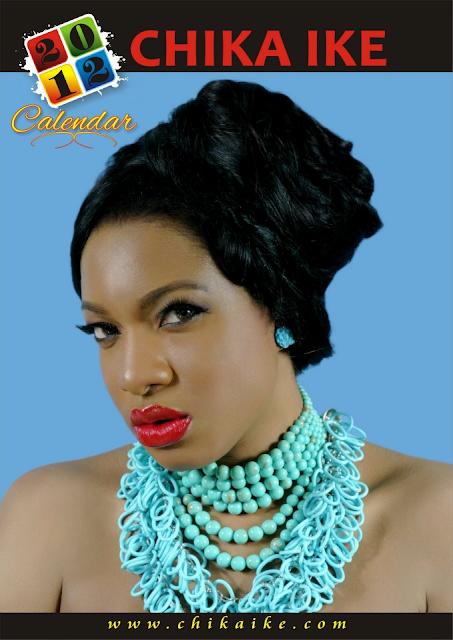 Too Late?? Actress Chika Ike Unveils 2012 Calendar. 1