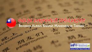 Beasiswa Pelatihan Bahasa Mandarin di Taiwan