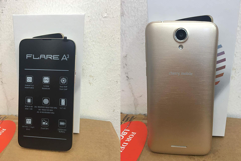 Cherry Mobile Flare A3 Leaks, A Budget LTE Ready Phone!