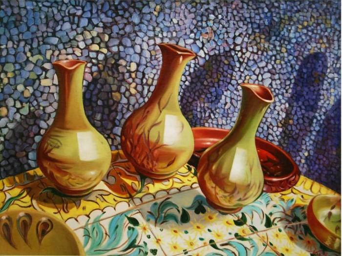 Современные художники Узбекистана. Нафиса Гильманова 15