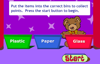 http://www.bbc.co.uk/schools/barnabybear/games/recycle.shtml