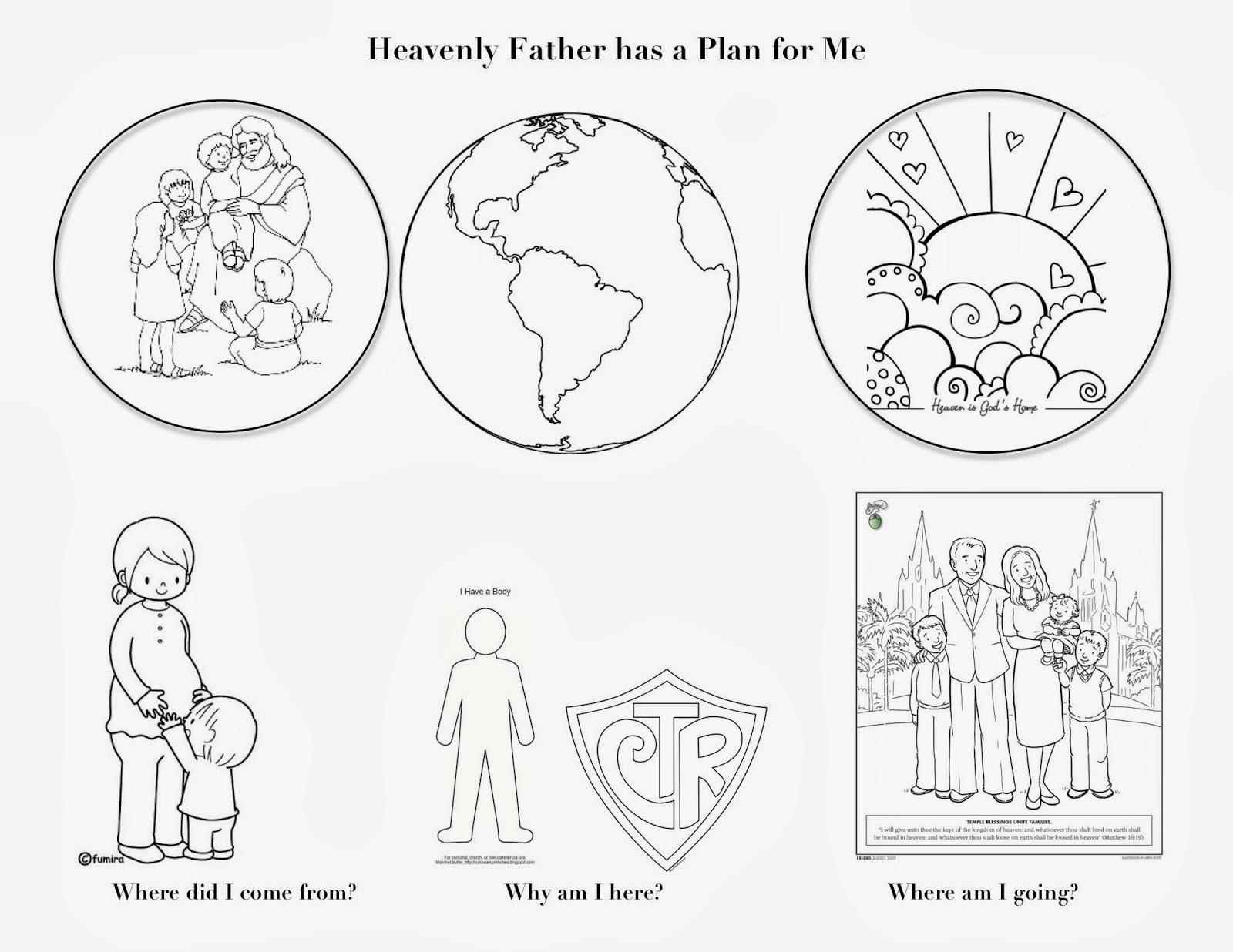 Une Primaire Qui Roule Fevrier Notre Pere Celeste A Un Plan Pour Ses Enfants