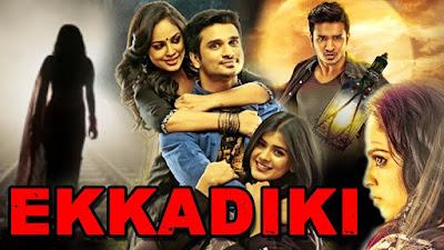 Ekkadiki 2017 Hindi Dubbed WEBRip 480p 350Mb x264