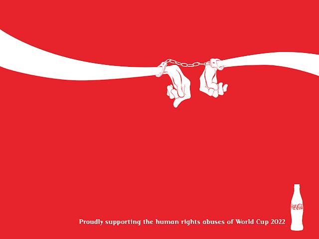 """O slogan da Coca-Cola é """"compartilhar a felicidade""""! Será"""