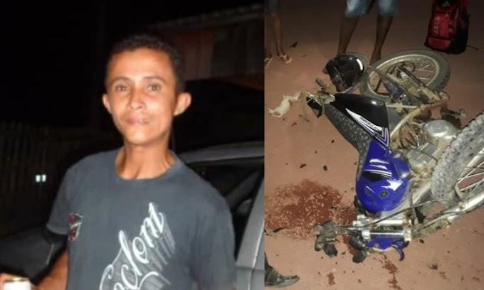 Homem morre em gravíssimo acidente envolvendo duas motos em Itaituba