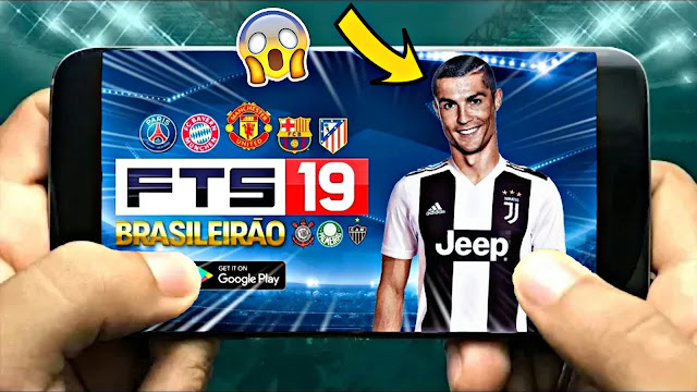FTS 19 Android 200 Mb Update Best Graphics HD C.Ronaldo in Juventus