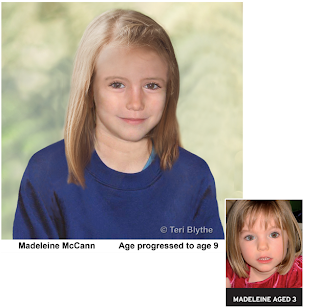 Madeleine McCann, 9th Birthday, bloggingformadeleine