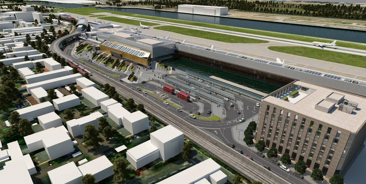 proyecto london city airport