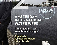 Foto cover H2O special over Amsterdam International Water Week