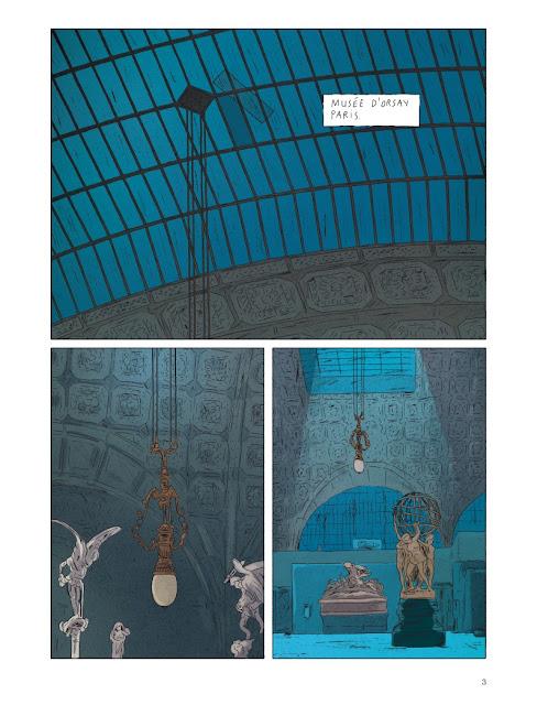La Grande Odalsique aux éditions Dupuis page 3