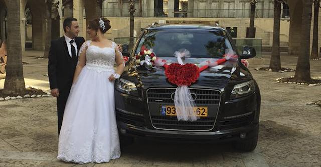 רכב לחתונה מקושת