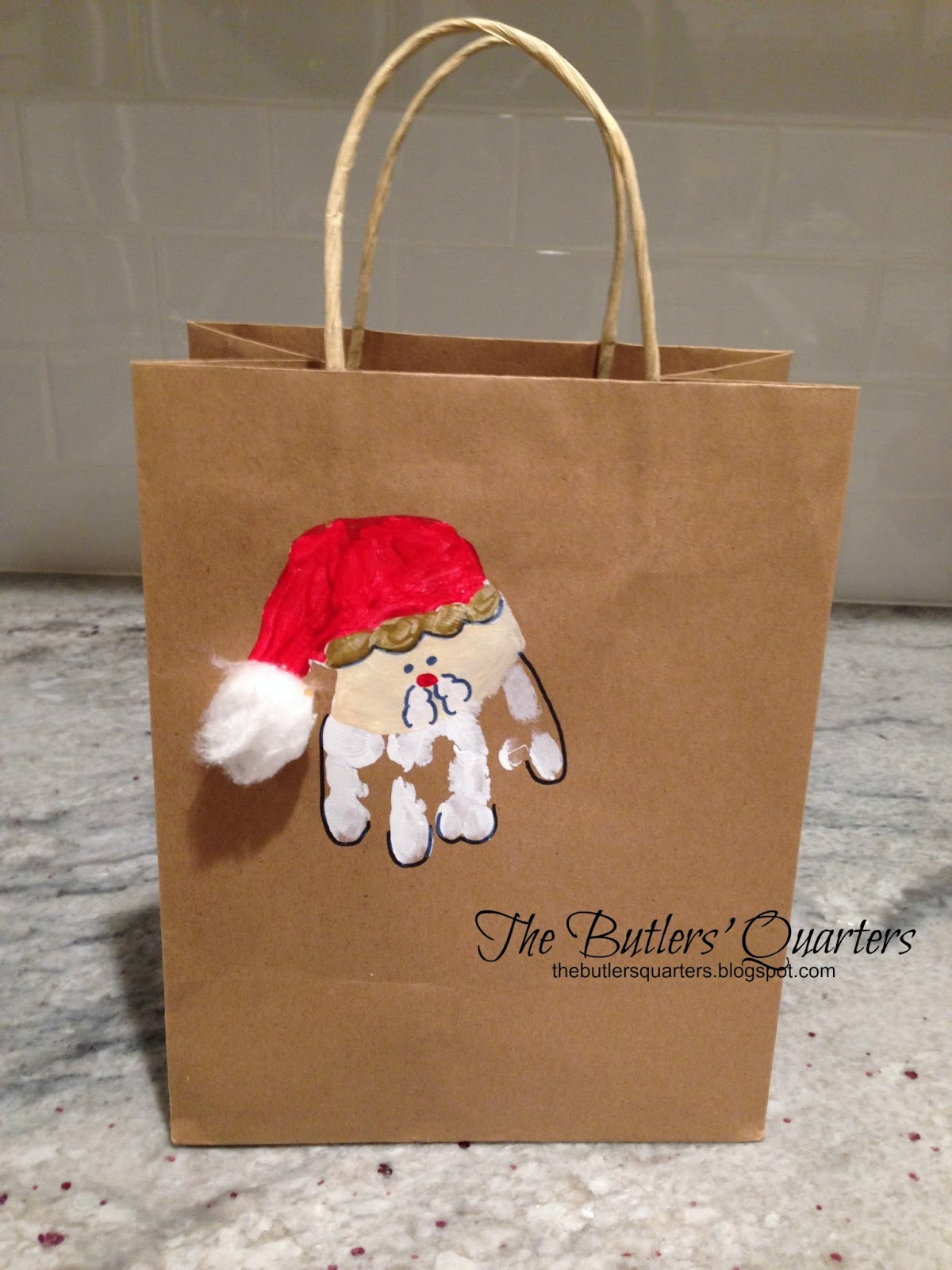 Christmas Gift Bags Ideas.The Butlers Quarters Diy Christmas Gift Bags And Teacher