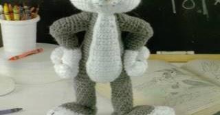 Amigurumi Bugs Bunny Free Pattern | Crochet amigurumi free ... | 168x320