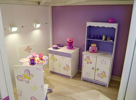Dormitorio lila para ni a via for Cuartos de nina de 4 anos