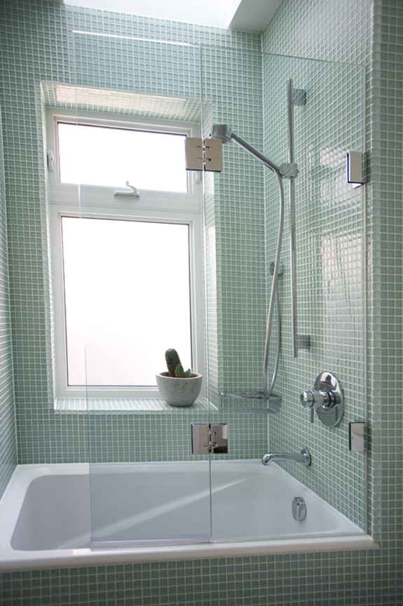 Shower Doors Of Usa Double Panel Tub Screen