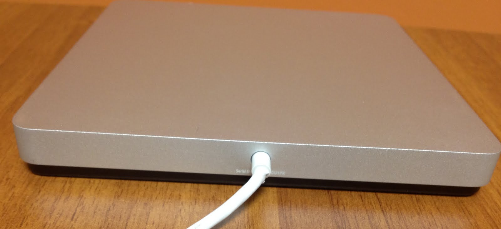 How to forcibly eject a CD/DVD from a MacBook Air USB SuperDrive