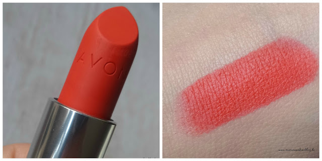 "Avon True Colour Perfectly Matte Lippenstift ""Coral Fever"""