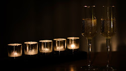 Candlelight and Champagne Public Domain