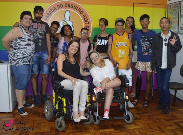 Gata de Rodas - GT Pessoa Com Deficiência LGBT de São Paulo