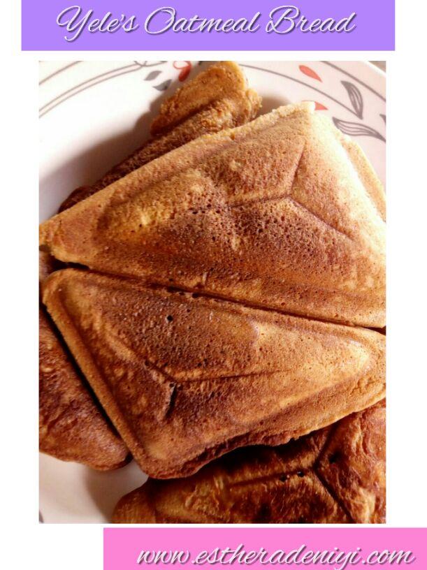 Yele's Oatmeal Bread