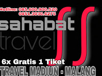 Jadwal Sahabat Travel Madiun Malang PP