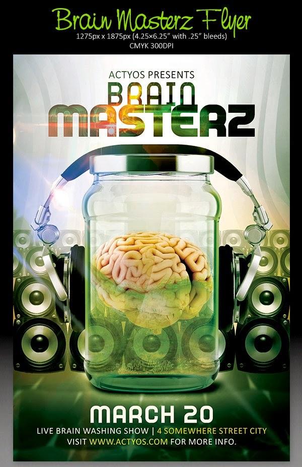 Brain Masterz Flyer Template