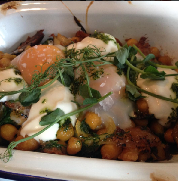 The Cook House Ouseburn | Breakfast with Kids - Mackerel, curried chickpeas and baked eggs