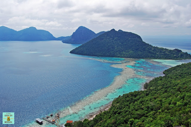 Isla Bohey Dulang, Borneo (Malasia)