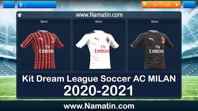 kit dream league soccer ac milan