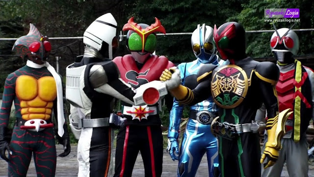 Kamen Rider × Kamen Rider Fourze & OOO: Movie War MegaMax DC Subtitle Indonesia