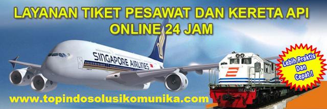 Cara Transaksi Booking Tiket Pesawat Murah di Topindo Solusi Komunika