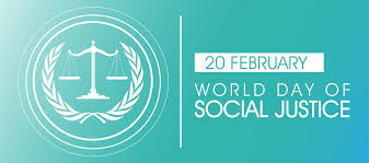 World Day of Social Justice 20 February - Theme and Notes
